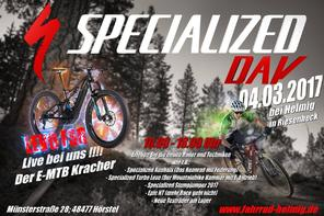 Specialized Day 2017 am 04.03.