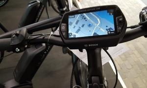 Elektrofahrrad Bosch Nyon Navigation